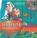 Imagen de La Niña Y El Grillo En Un Barquito