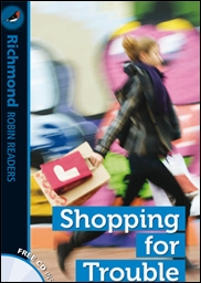 Imagen de Shopping for trouble, level 2. Readers