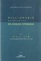 Imagen de Diccionario Metodolóxico De Análise Literaria: I A Poesia
