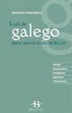 Imagen de Tests De Galego Para Oposicions Sergas