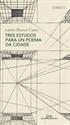 Imagen de Tres Estudos Para Un Poema Da Cidade