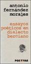 Imagen de Ensayos Poéticos En Dialecto Berciano