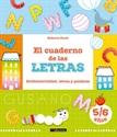 Imagen de CUADERNO DE LAS LETRAS:GRAFOMOTRICIDAD LETRAS Y PA