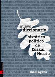 Imagen de Nuevo Diccionario Histórico-Político De Euskal Herria
