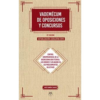 Imagen de (6ºed.)Vademecum De Oposiciones Y Concursos