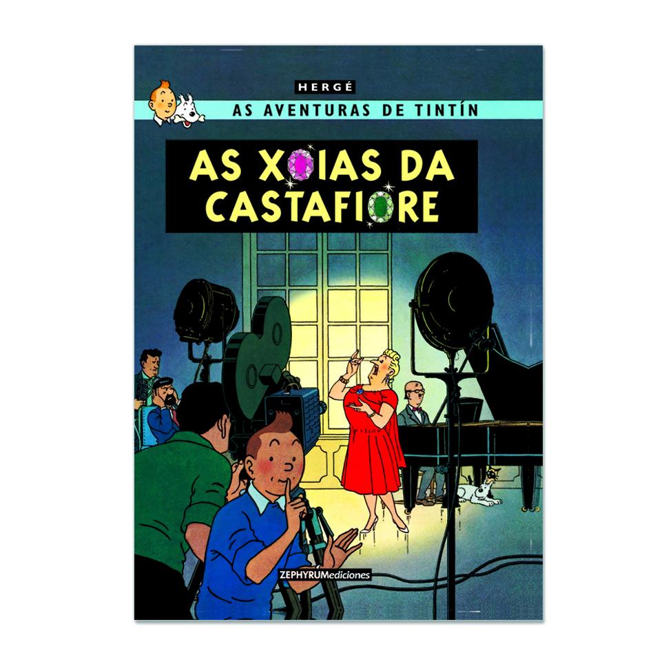 Imagen de As xoias da Castafiore