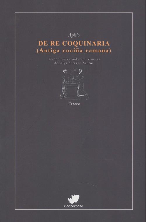 Imagen de DE RE COQUINARIA (ANTIGA COCIÑA ROMANA)