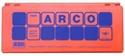 Imagen de Estuche Color Naranja 12 Fichas Mini Arco